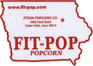fit-pop popcorn, grown in Iowa