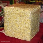 "16"" Solid FIT-POP popcorn cube"