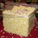 "16"" hollow FIT-POP popcorn cube"